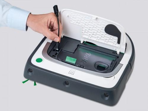 Ligue  o adaptador USB ao VR200