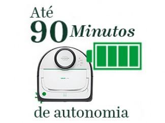 Até 90 minutos de autonomia