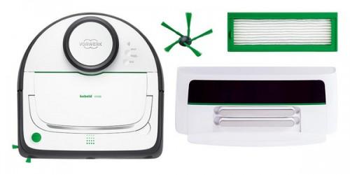 O Robô Aspirador vem com os seguintes componentes: