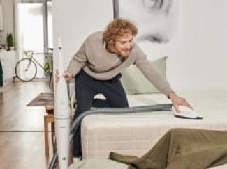 Lavagem e aspiração do colchão