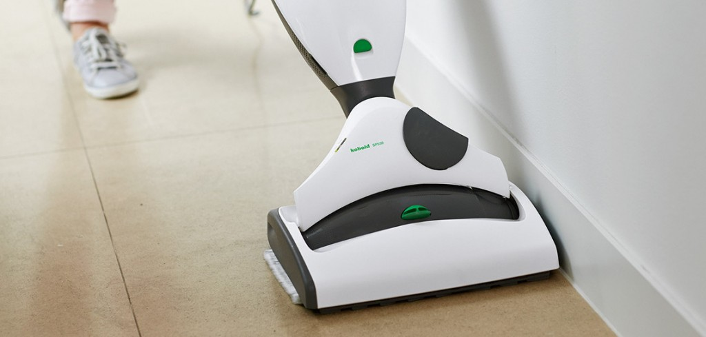 Reduza para metade o esforço na limpeza do pavimento.